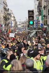 Paris, manifestation du 09 février 2019 des gilets jaunes, Acte XIII