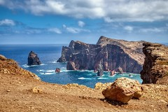 Ponta de São Lourenço Rocks