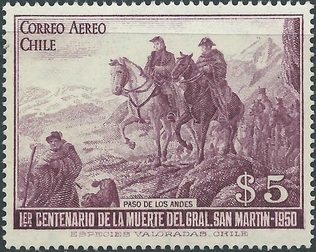 Chile - Scott #C165 (1951)