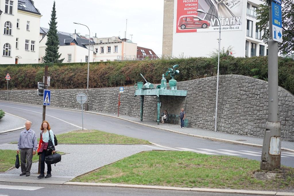 Liberec bus stop
