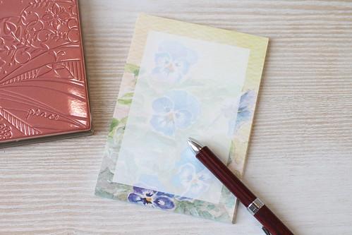 ビオラ メモ用紙