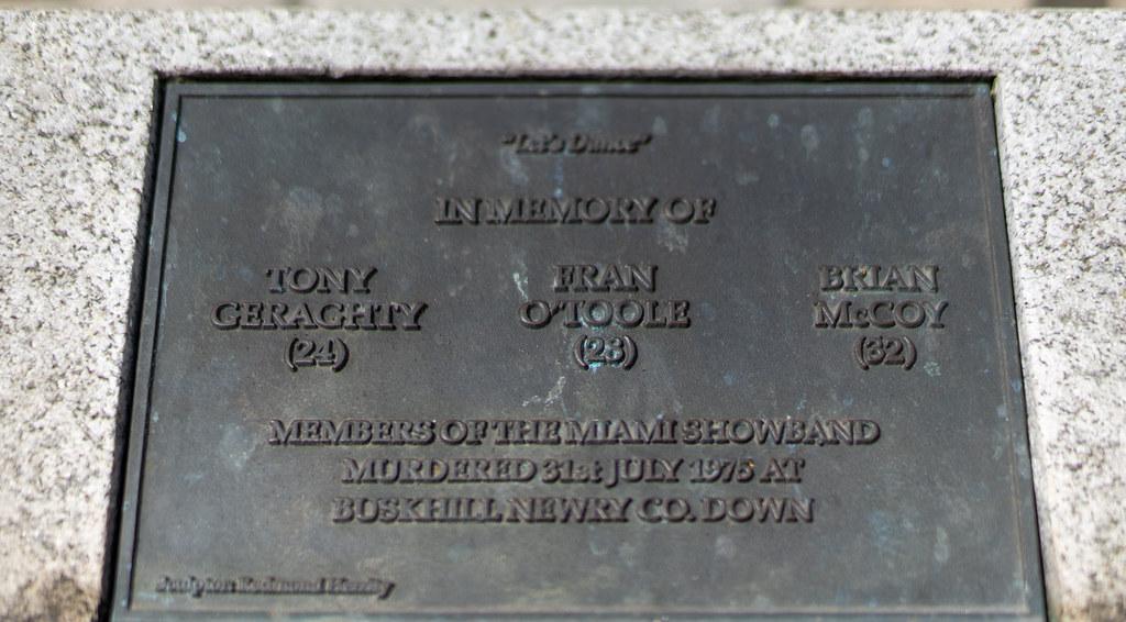 THE MIAMI BAND MEMORIAL - NORTH PARNELL SQUARE DUBLIN   003
