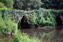 Plounévézel (29) : le pont gaulois dit de Sainte-Catherine
