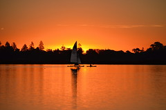 Lake Wendouree Sunset