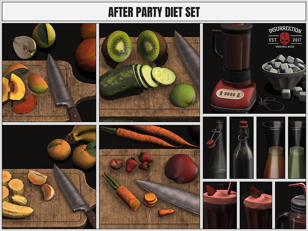 [IK] After Party Diet Set