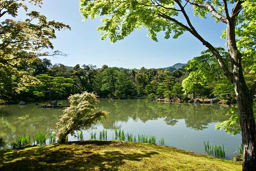 Reflecting Pond At The Golden Pavilion
