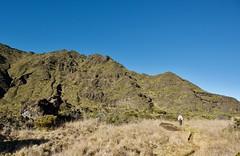 Climb from the Crater Floor of Haleakala