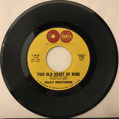 ISLEY BROTHERS:THIS OLD HEART OF MINE(RECORD SIDE-A)