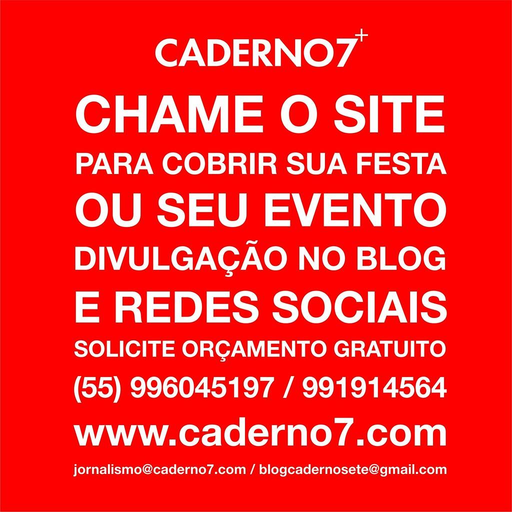 Divulgação coberturas - Caderno7