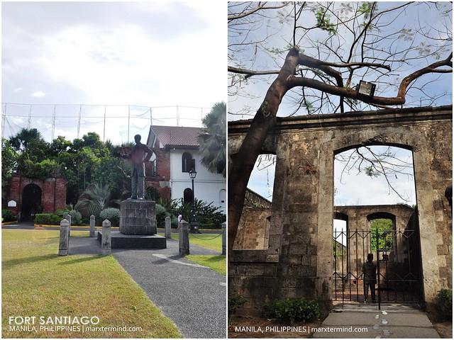 Fort Santiago in Manila, Philippines