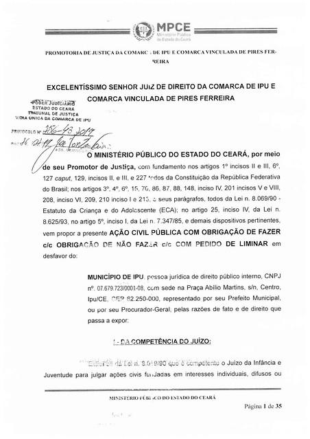 Ministério Público pede cancelamento do Carnaval de Ipu