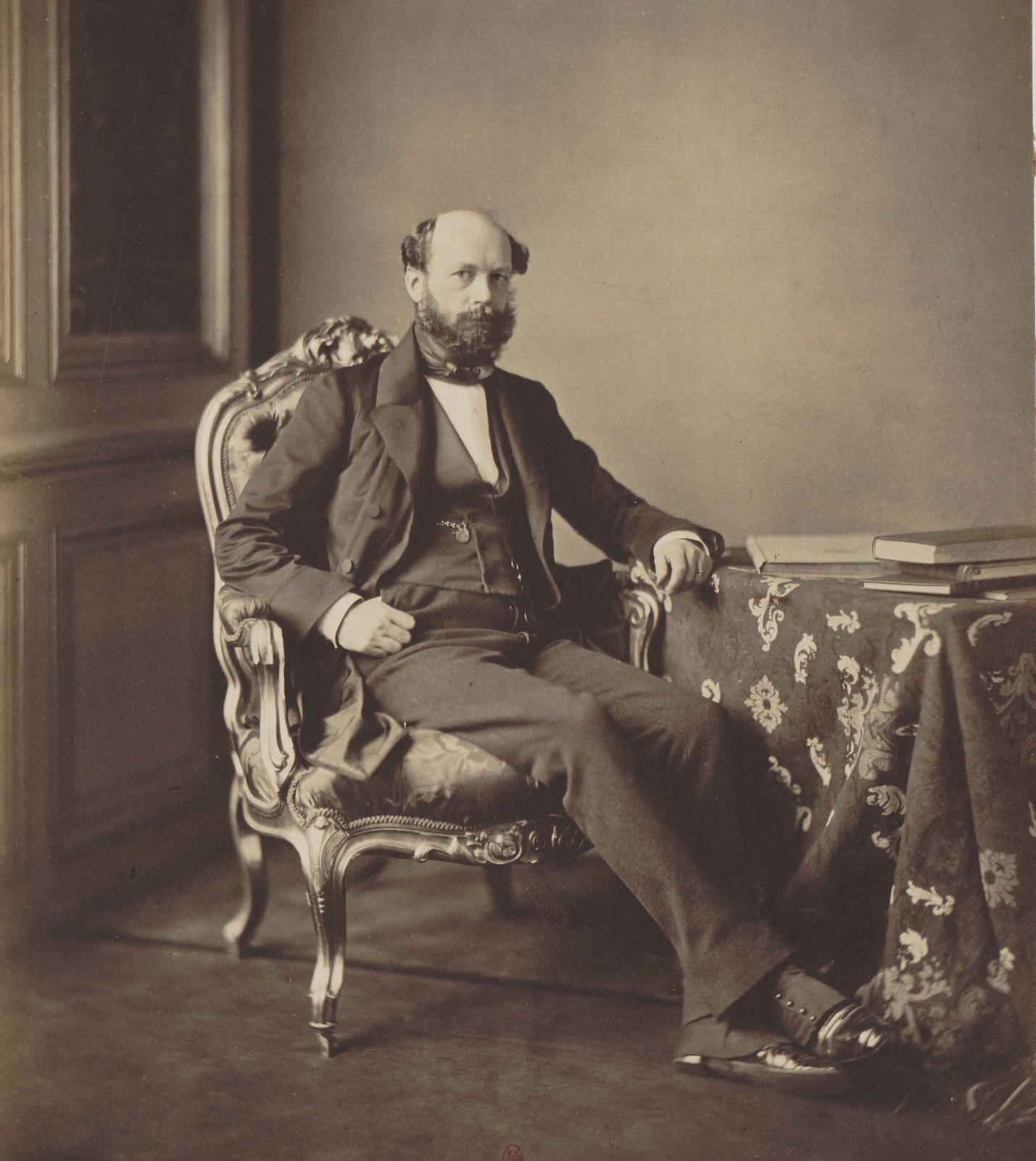 08. Посол Пруссии в Париже, второй уполномоченный на Конгрессе граф М. Гарцфельдт