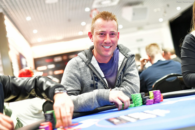Matt Russell Bags The Day 1c Chip Lead Noticias De Poker Mas Recientes Partypoker Live