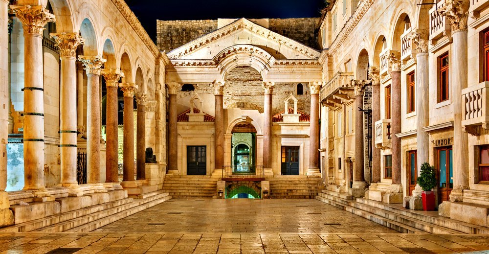 Palace of Diocletian in Split