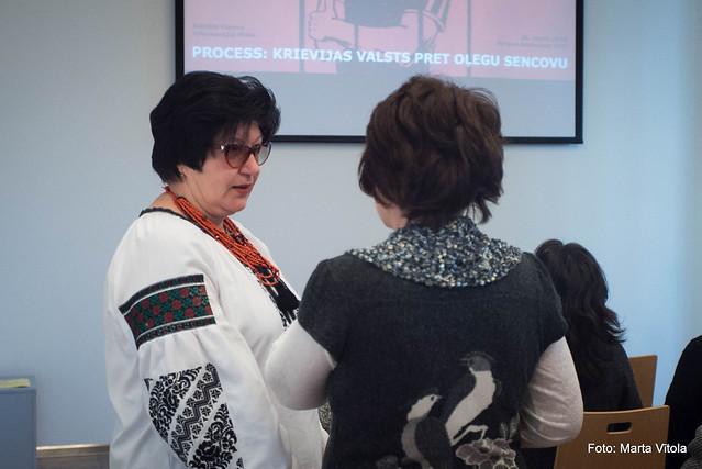 """Askolda Kurova dokumentālā filma """"Process: Krievijas valsts pret Oļegu Sencovu"""""""