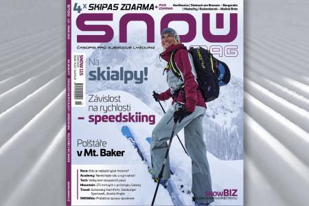 SNOW 115 - únor 2019: rychlostní lyžování, skialpy a 4x skipas + pivo zdarma