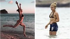Shakira presume a sensual entrenadora que la opaca con curvas de infarto
