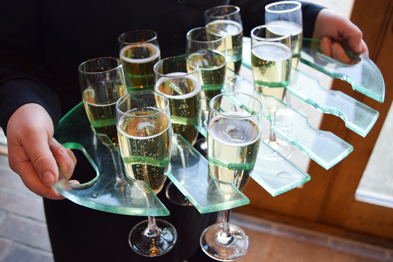 Champagne at the Top 50 Gastropubs Awards 2019