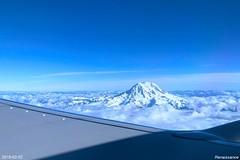 Scenic Flight - Rainier and St Helens