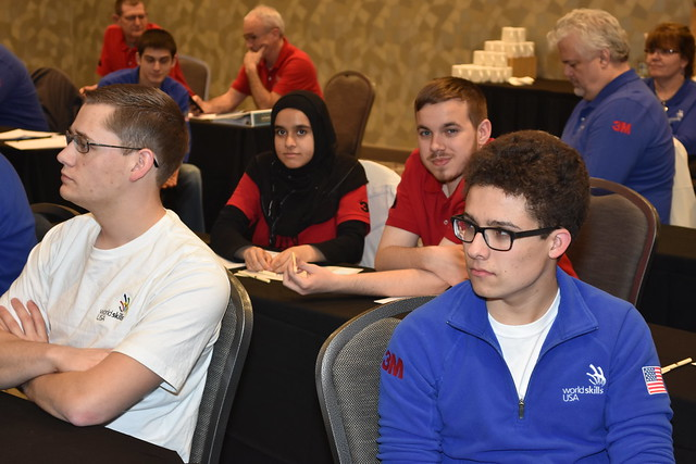WorldSkills USA Training Sessions