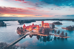 Trakai Island Castle | Lithuania aerial #77/365