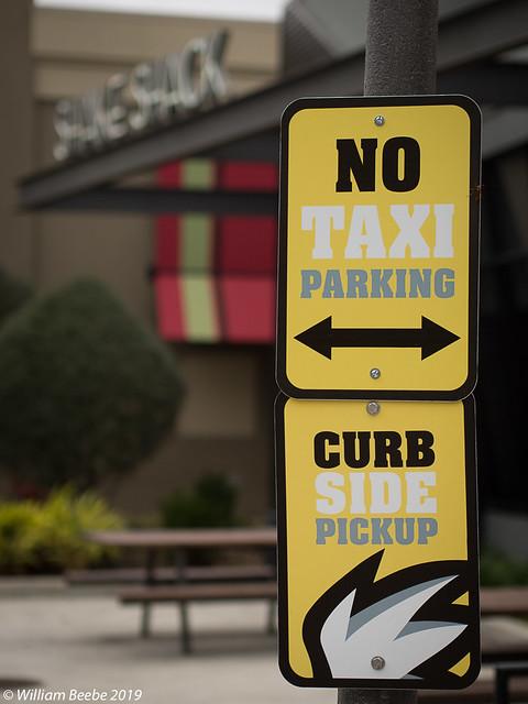 No Taxi Parking