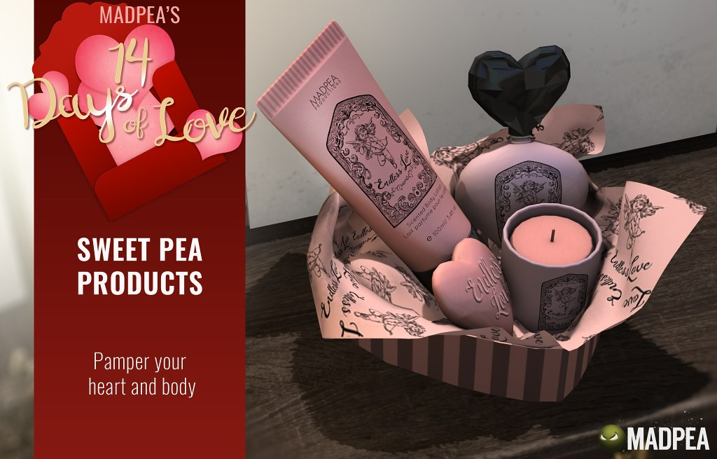 Sweet Pea Products – 14 Days of Love Calendar Day 11