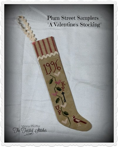 Plum Street Valentine Stocking