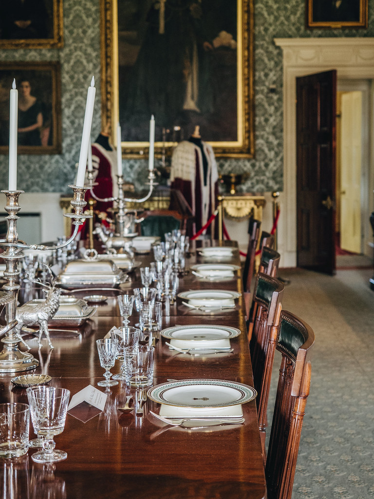 Haddo House - dining-3