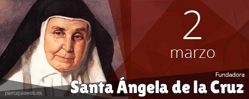 Santa Ángela de la Cruz