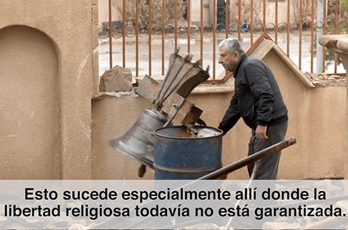 El Papa pide rezar por los cristianos perseguidos