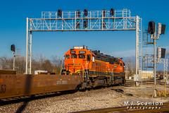 BNSF 2679 | EMD GP39-3 | BNSF Thayer South Subdivision