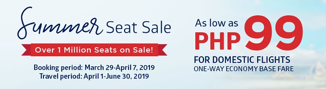 Philippine Airlines Summer Seat Sale
