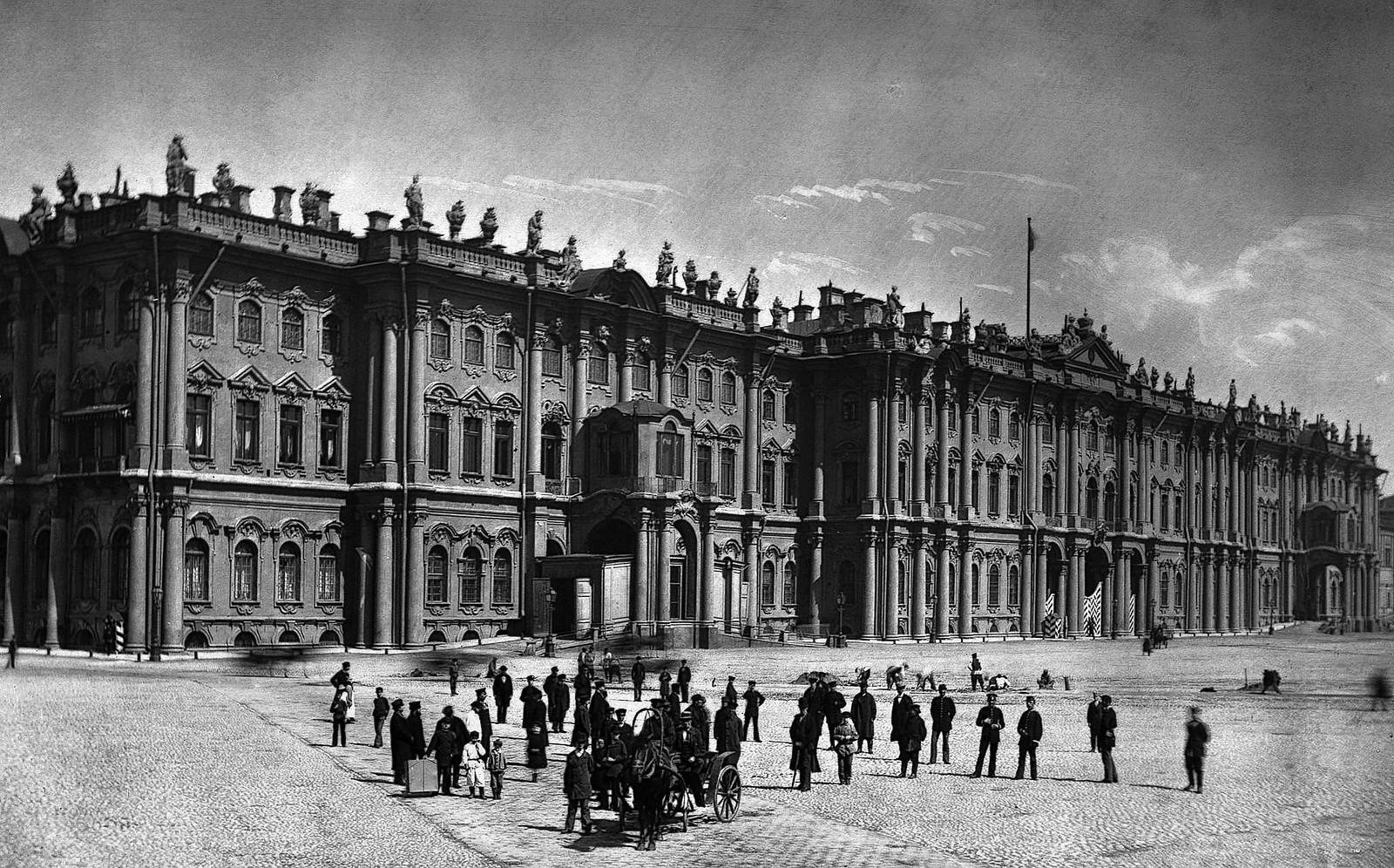 Дворцовая площадь. 1880-е