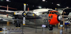 Fairchild C-119J Flying Boxcar, National Museum of the US Air Force, Dayton, Ohio, USA.