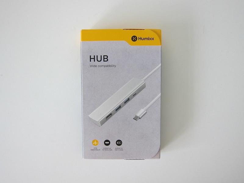 Humixx 4-in-1 USB-C Hub - Box Front