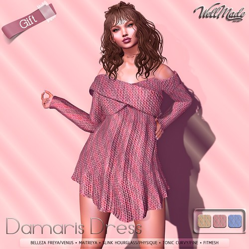 [WellMade] Damaris Dress