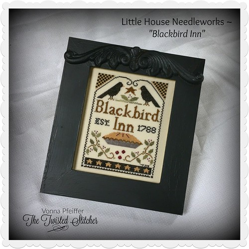 Little House Needleworks_Blackbird Inn_Framed Family Tree