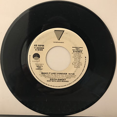 KEITH SWEAT:MAKE IT LAST FOREVER(RECORD SIDE-B)
