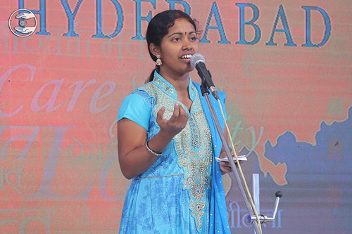 Telugu devotional song by Rohini from Hyderabad TS