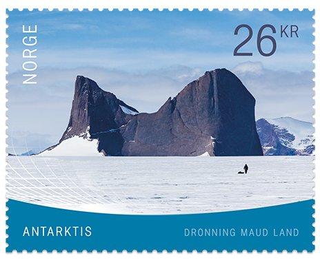 Norway - Antarctica (January 4, 2019) design 1