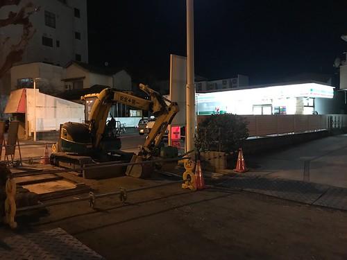 にしても、最近の熊谷市街地の道路工事はマジ困る