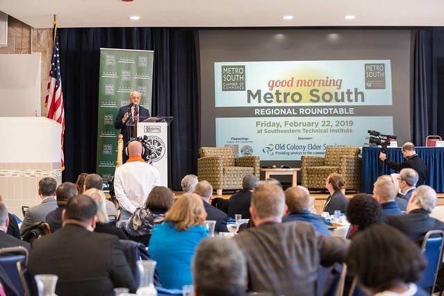 Good Morning Metro South: Regional Roundtable @ STI