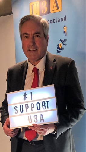Supporting U3A | by Iain Gray MSP