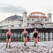 Brighton Swimming Club In The Snow February 1st 2019 by lomokev