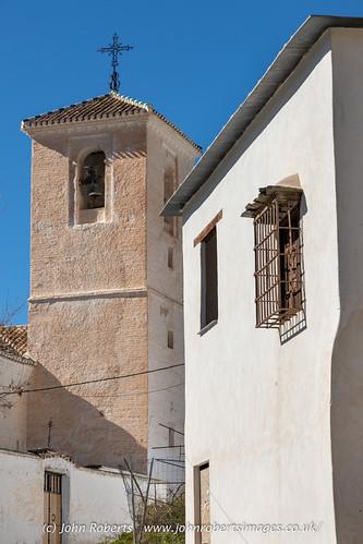 Iglesia de la Santa Cruz, Ferreirola, Granada, Spain