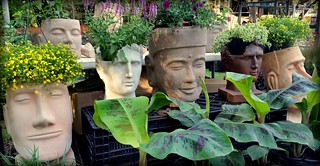 Heads of the Spring Garden Festival