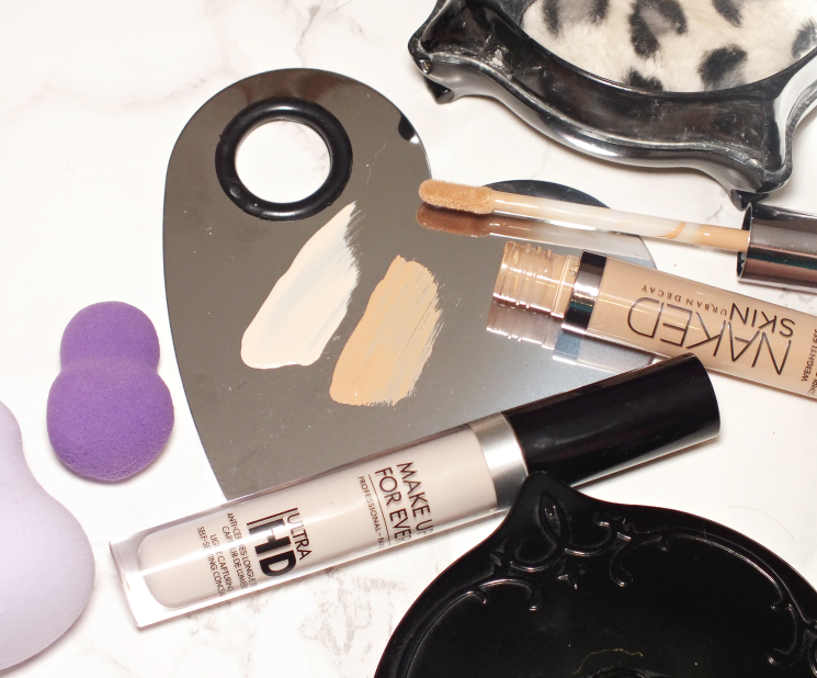make up for ever ultra hd & urban decay naked skin concealer (3)