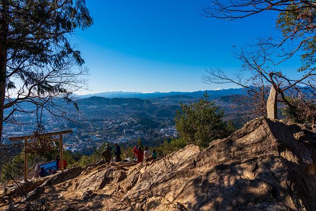 金比羅神社の展望台