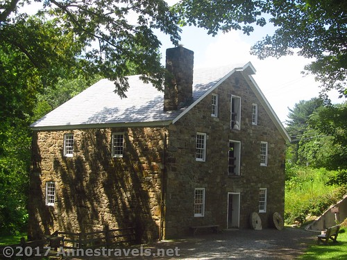 The mill building at Cooper Mill in Chester, New Jersey